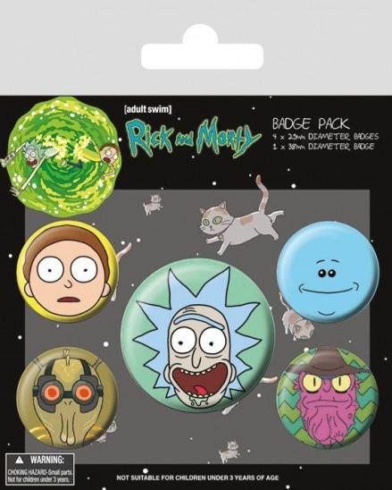Κονκάρδες Rick and Morty