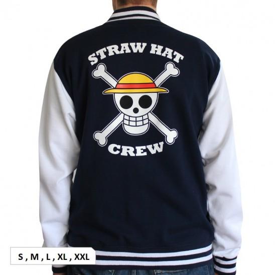 Φούτερ Straw Hat Pirates (US College Style)