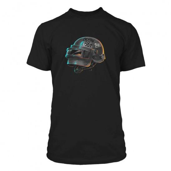 T-shirt Born to Loot (Spetsnaz Helmet)