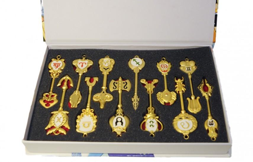 Συλλογή χρυσά Celestial Spirit Gate Keys