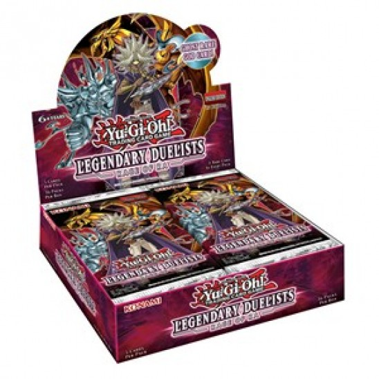 Booster Display Legendary Duelists: Rage of Ra