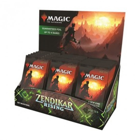 Set Booster Display Zendikar Rising