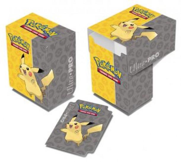 Deck Box Full View Pikachu Jump (Ultra Pro)
