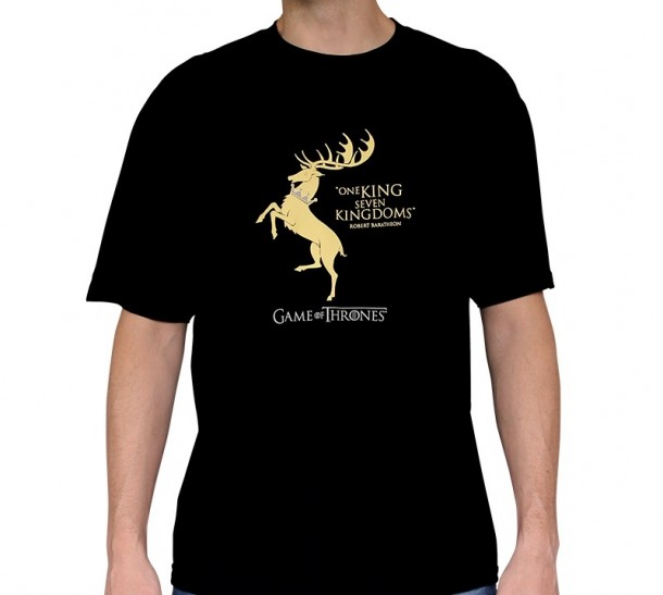 T-shirt Baratheon / One King, Seven Kingdoms