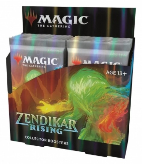 Collector Booster Display Zendikar Rising