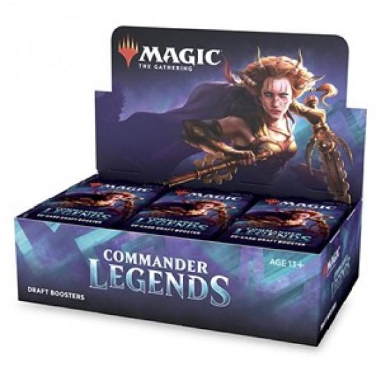 Draft Booster Display Commander Legends