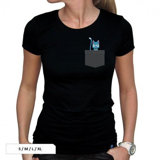 T-Shirt Pocket Happy (Woman)