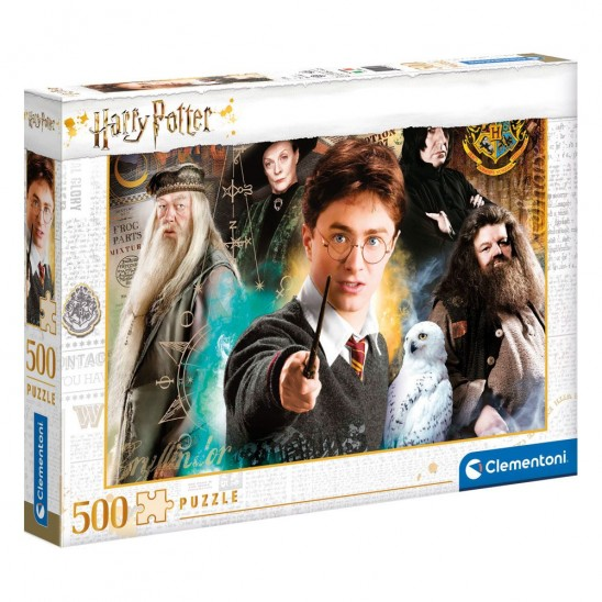 Puzzle Harry at Hogwarts (500 pieces)
