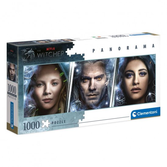Puzzle The Witcher Panorama Faces (1000 pieces)