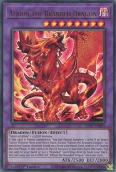 Albion the Branded Dragon (LIOV-EN033) - 1st Edition