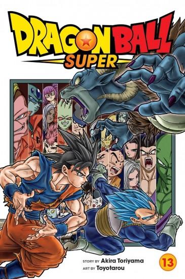 Manga Dragon Ball Super Τόμος 13 (English)
