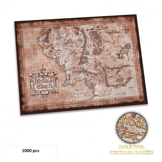 Puzzle Middle Earth (1000 pieces)