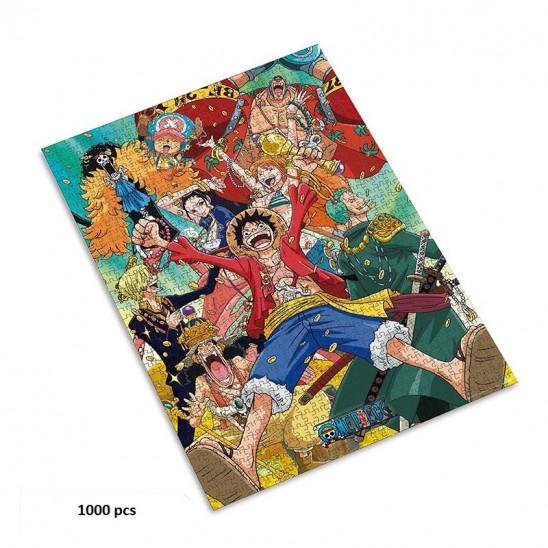 Puzzle Straw Hat Crew (1000 pieces)
