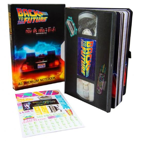 Τετράδιο Back to the Future VHS (A5)