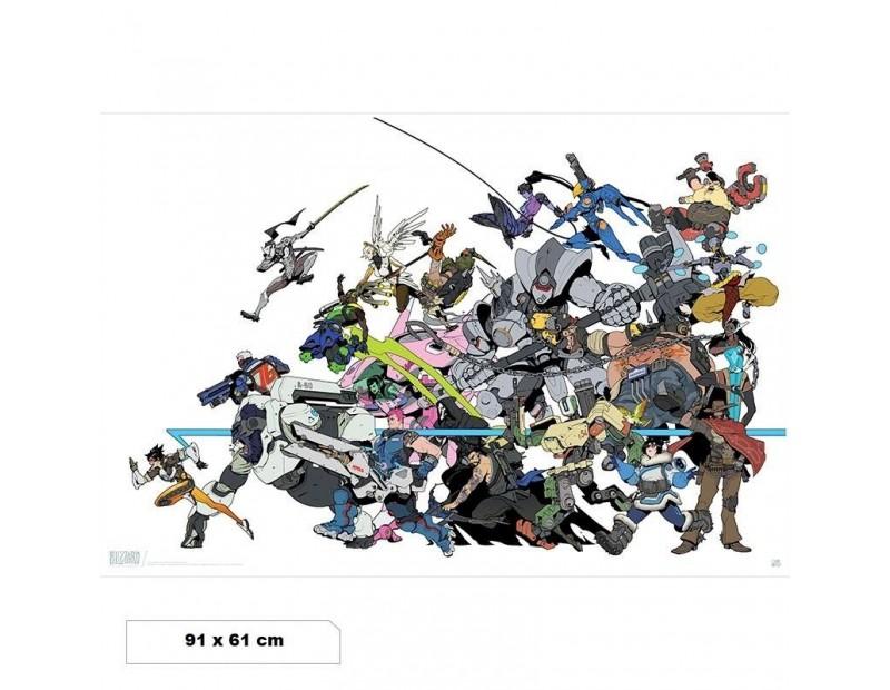 Αφίσα All Heroes (91x61)