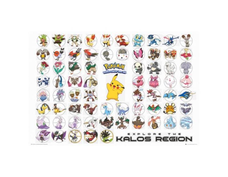 Αφίσα Kalos Region (91x61)