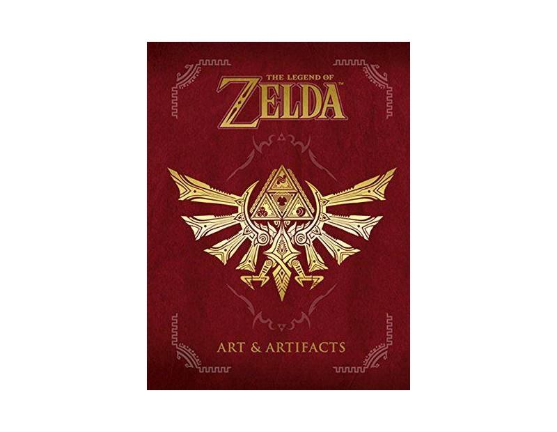 Artbook The Legend of Zelda Art & Artifacts