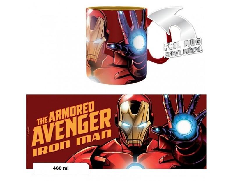 Κούπα Iron Man The Armored Avenger (Foil - 460ml)