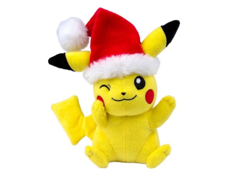 Λούτρινο Pikachu (Christmas Edition)