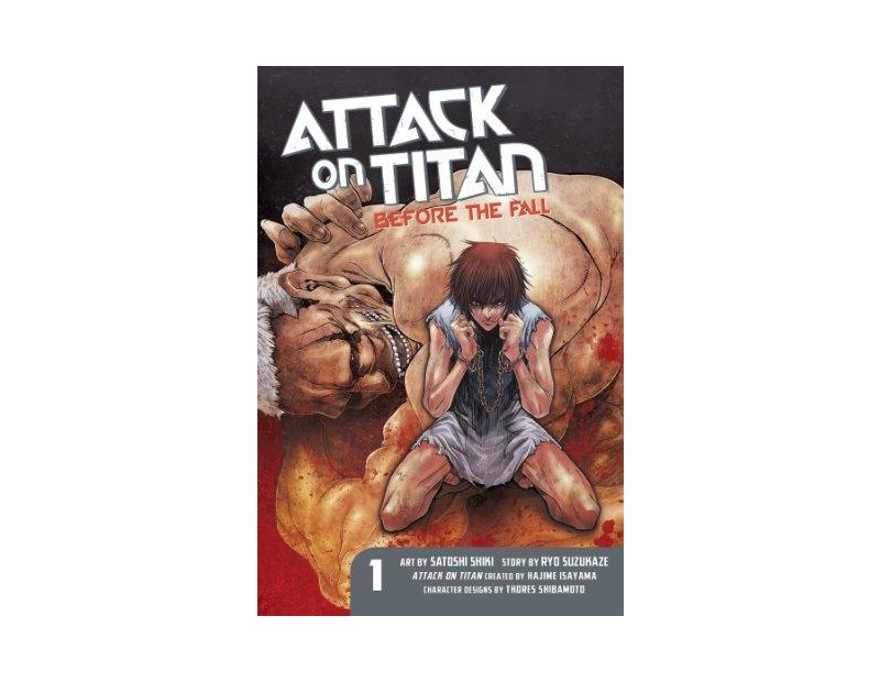 Manga Attack On Titan Before the Fall Τόμος 01 (English)
