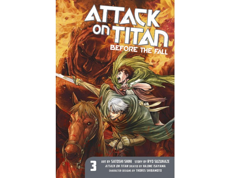 Manga Attack On Titan Before the Fall Τόμος 03 (English)