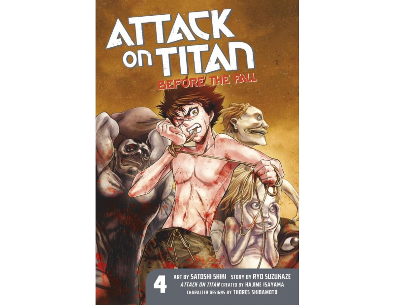 Manga Attack On Titan Before the Fall Τόμος 04 (English)