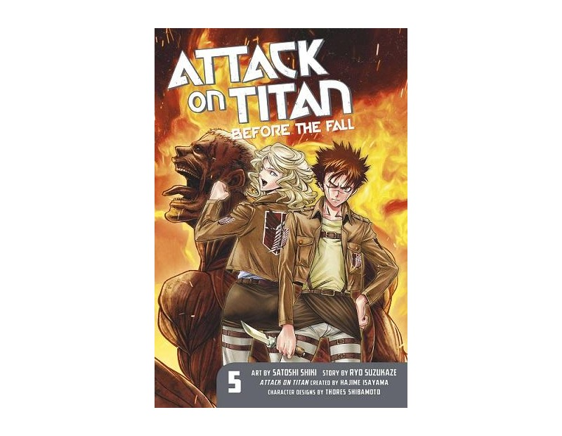 Manga Attack On Titan Before the Fall Τόμος 05 (English)