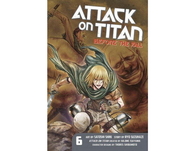 Manga Attack On Titan Before the Fall Τόμος 06 (English)