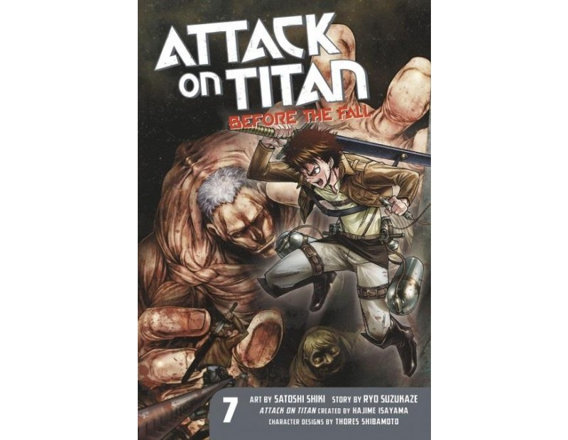 Manga Attack On Titan Before the Fall Τόμος 07 (English)