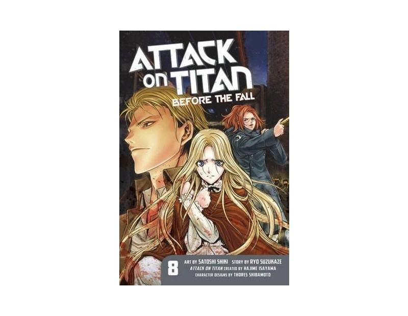 Manga Attack On Titan Before the Fall Τόμος 08 (English)