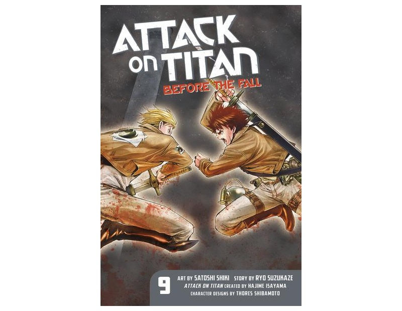 Manga Attack On Titan Before the Fall Τόμος 09 (English)
