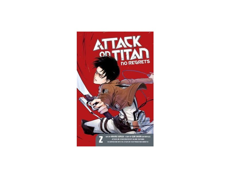 Manga Attack On Titan No Regrets Τόμος 02 (English)