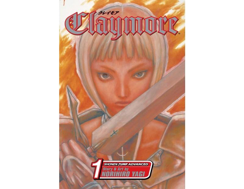 Manga Claymore Τόμος 1 (English)
