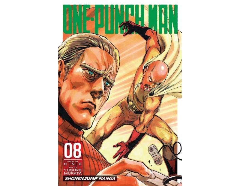 Manga One-Punch Man Τόμος 8 (English)