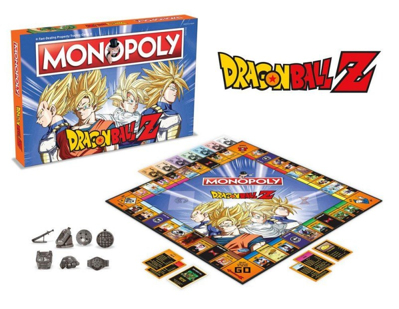 Monopoly Dragon Ball Z (English)
