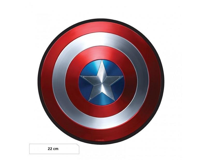 Mousepad Captain America (Shield)