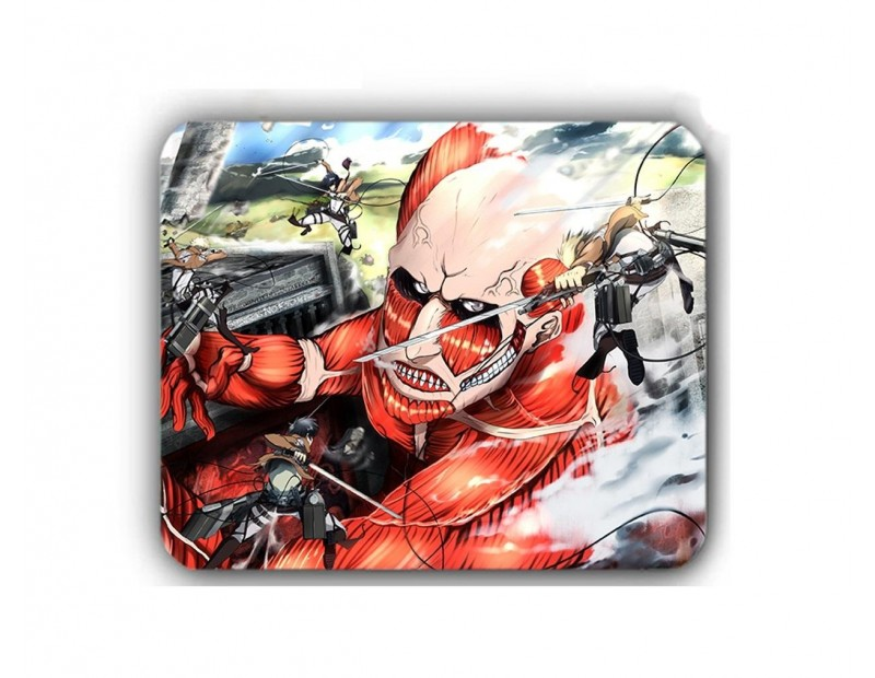 Mousepad Colossal Titan vs Survey Corps