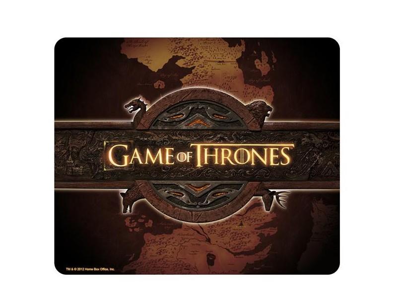 Mousepad logo GoT και χάρτης Westeros