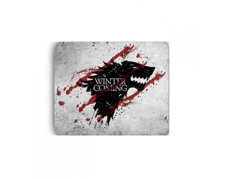 Mousepad House Stark - Winter is coming