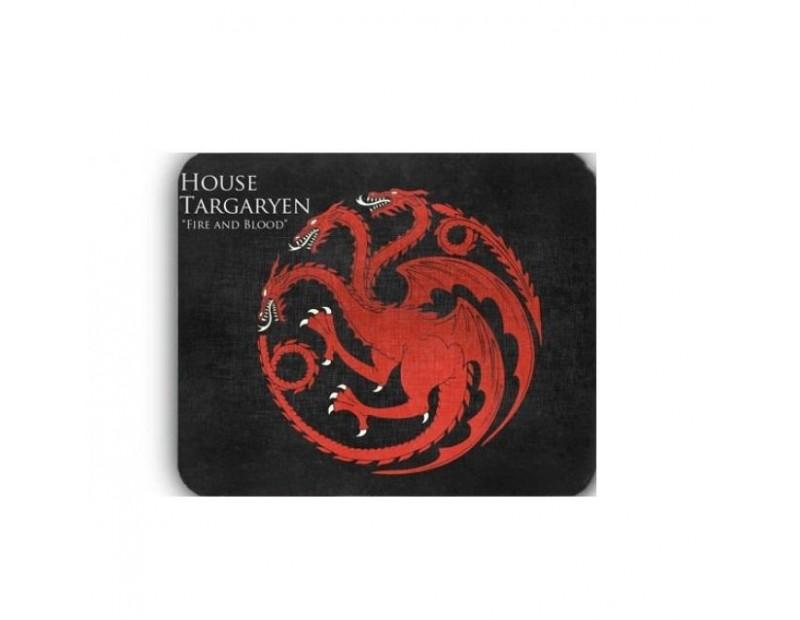 Mousepad House Targaryen - Fire and Blood