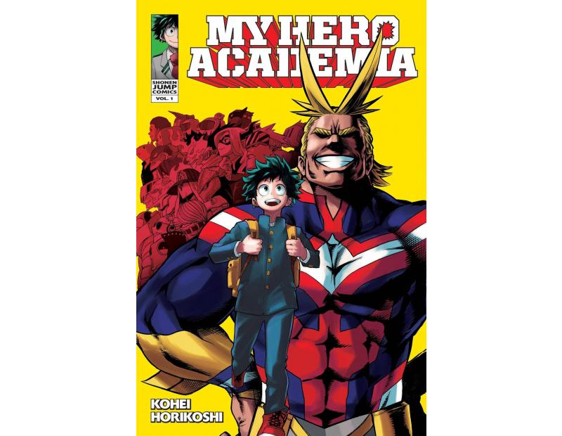 Manga My Hero Academia Τόμος 01 (English)