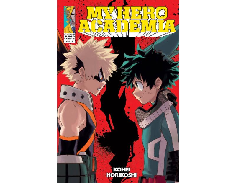 Manga My Hero Academia Τόμος 02 (English)