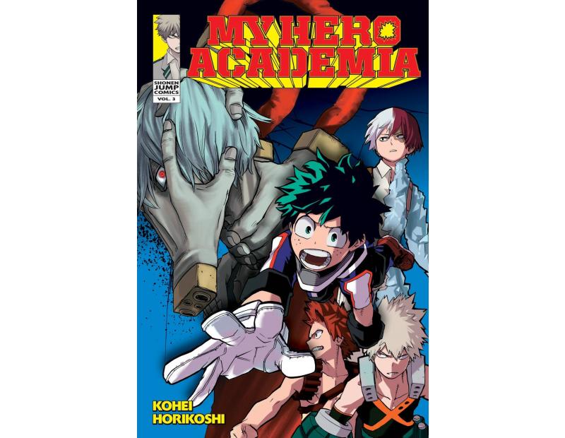 Manga My Hero Academia Τόμος 03 (English)
