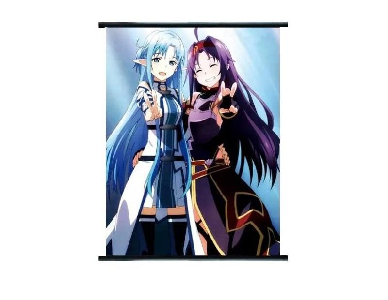 Wall Scroll Asuna Undine + Yuuki (60x90)