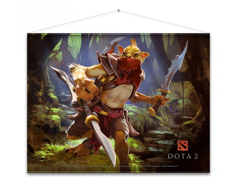 Wall scroll Bounty Hunter (100 x 77)