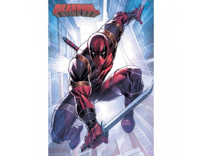 Αφίσα Deadpool Action Pose (91x61)