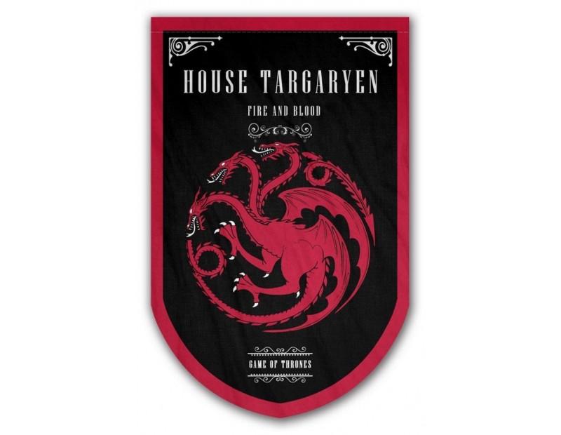 Banner House Targaryen (95x60cm)