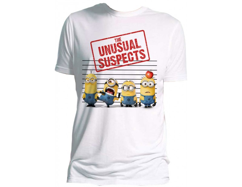 T-shirt The unsual suspects