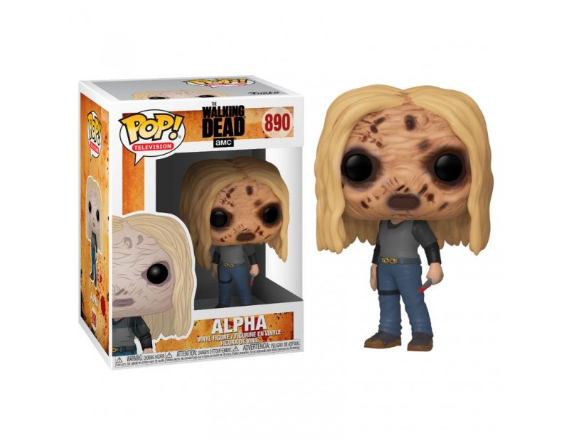 Φιγούρα Alpha with Mask (Funko POP)