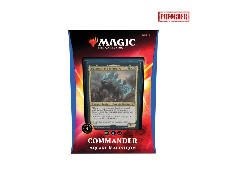 Commander Deck Ikoria: Arcane Maelstrom
